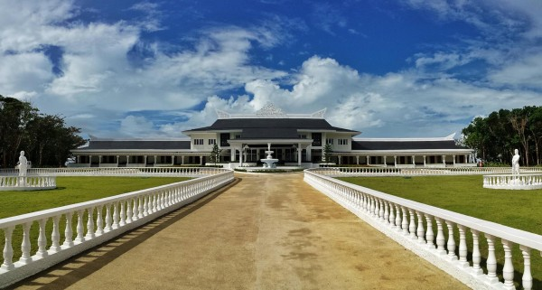 The Royal Palace in Balesin Island Club