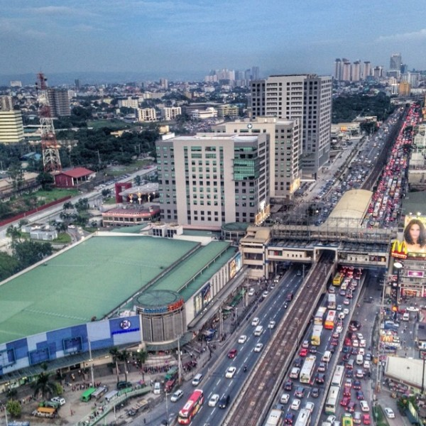 Traffic Jam in Edsa photo by Elaine Ross Baylon