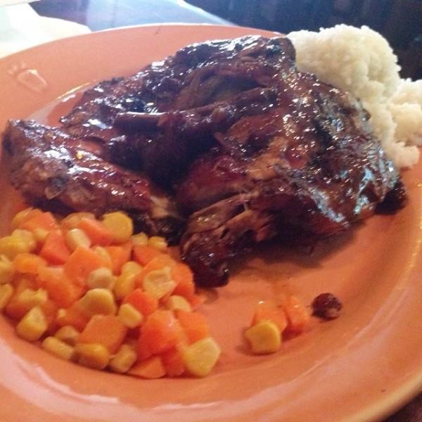 Brian's ribs at Casa Verde