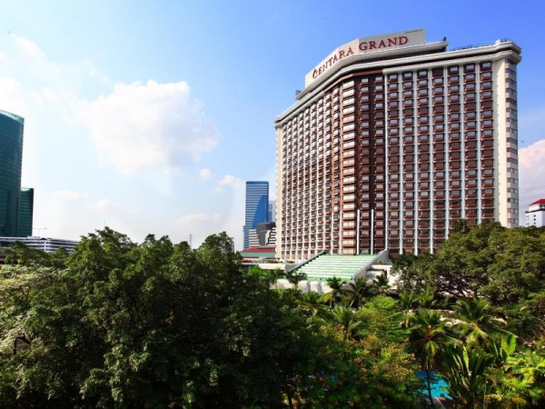 Centara Grand at Central Plaza Hotel in Bangkok