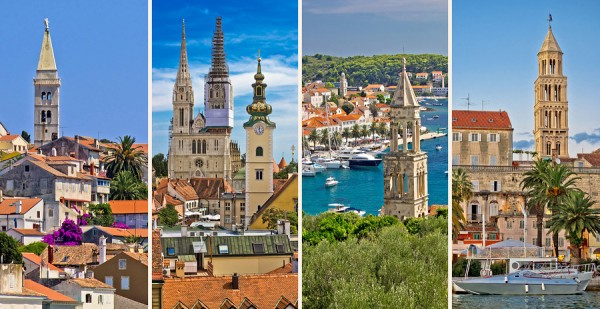 Welcome To Croatia, Cities Collage
