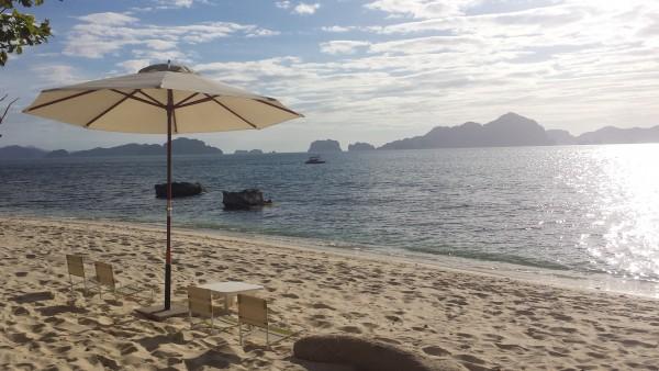 Golden hour in Ipil beach