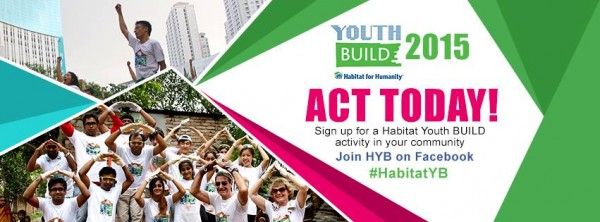 Habitat for Humanity Philippines Youth Build 2015