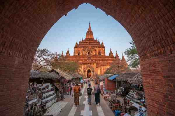 Htilominlo Temple in Myanmar