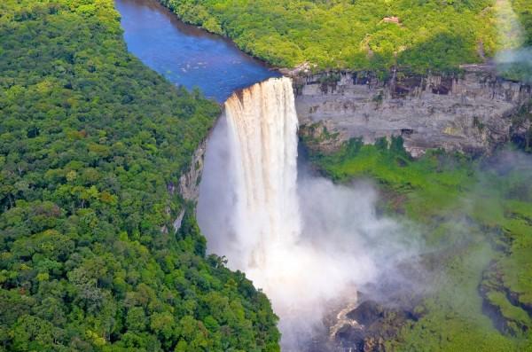 Kaieteur Falls in Guyana by James Deeges