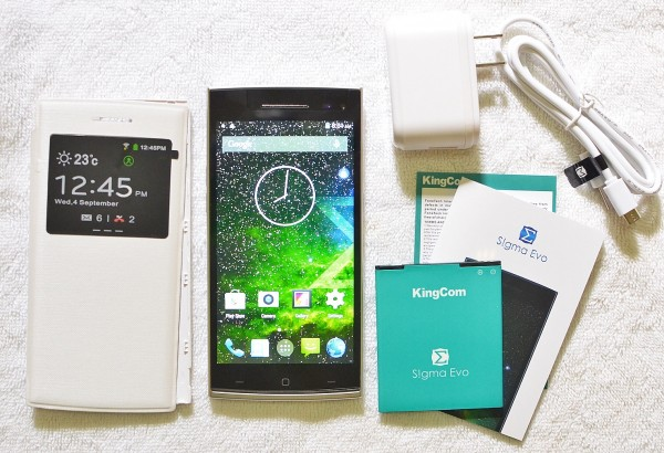 KingCom S!gma Evo comes with Free Cover Case and Extra Battery