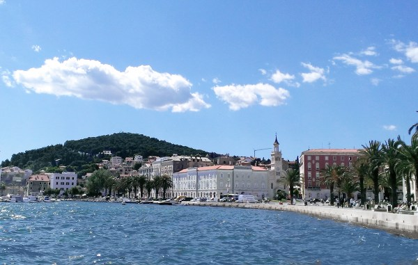 Marjan Hill as seen from theRiva Promenade in Croatia, 2013 - by DIREKTOR - Own work. Licensed under CC BY-SA 3.0 via Wikimedia Commons - Exciting City of Split, Croatia