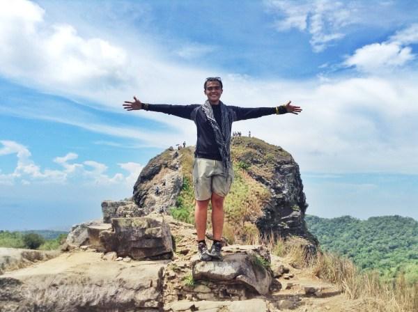 Mc Pol Androuse Cruz in Mt Pico de Loro