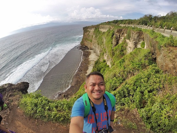 Melo in Uluwatu