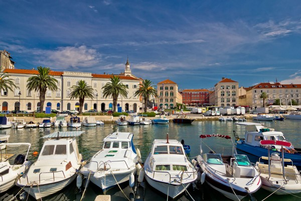 Split Riva Waterfront Colorful View