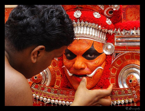 Thaiyyam is a traditional Art from Kerala photo by Sreejith Kenoth via Flickr