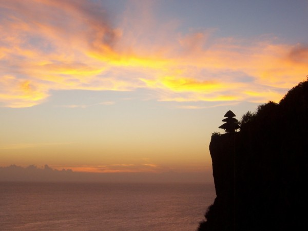 Ulawatu Sunset by Si and Amy via Flickr