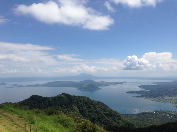 View of the Taal Lake and Volcano from Tagaytay
