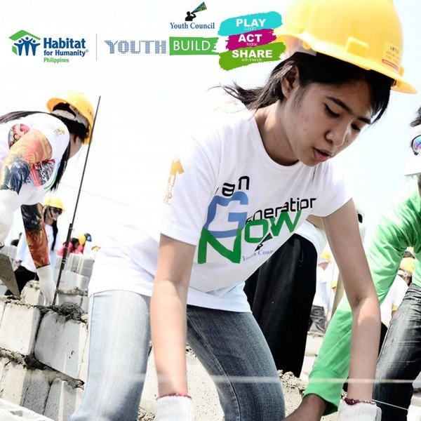 Youth Build 2015 Habitat for Humanity Philippines