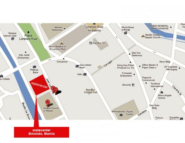Binondo Warehouse Sale Map