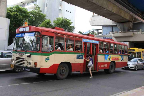 Bus Transport in Bangkok