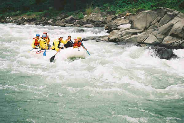 Chico River White Water Rafting