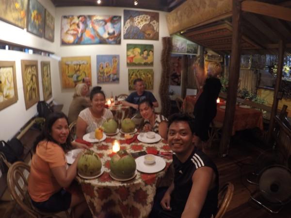 Dinner at Kalui Restaurant