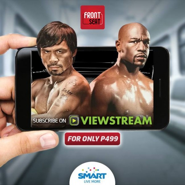 Download the Viewstream app now to stream the Pacquiao-Mayweather fight LIVE and commercial-free on May 2 and watch exclusive videos