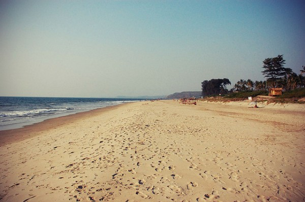 Mandrem Beach by Simon Alexander Jacob via Flickr