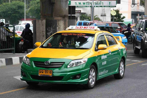Metered Taxi in Bangkok