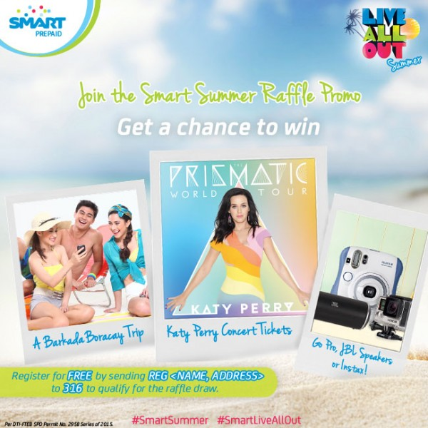 Smart Live All Out Summer Promo