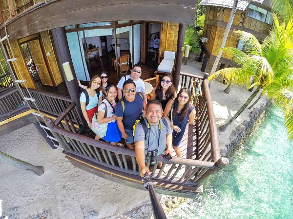 Travel Writers and Bloggers at Pearl Farm Resort in Samal Island