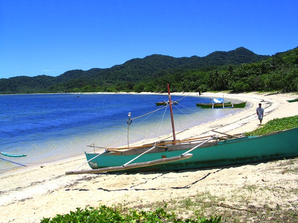 Island Destinations in the Philippines - White Sand Beach in Palaui Island