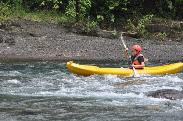White Water River Kayaking in Tibiao River