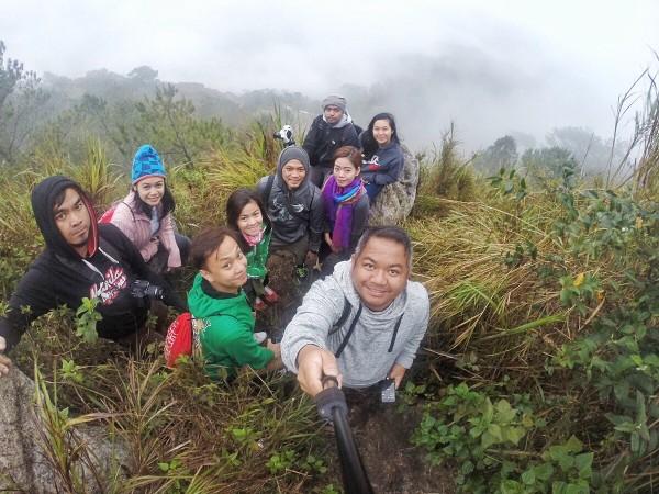 Group Selfie at Kiltepan Viewpoint in Sagada