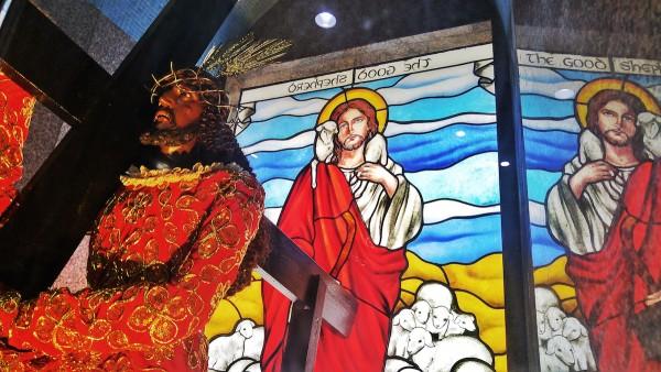 Image of Jesus Nazareno in Sta Cruz Church