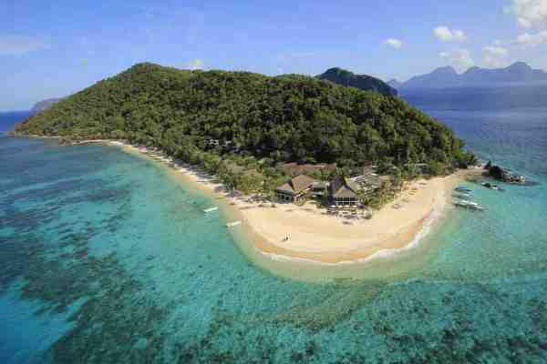 Pangulasian Island Resort in El Nido