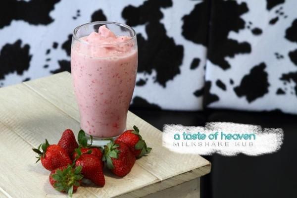 Strawberry Milkshake photo by A Taste of Heaven FB