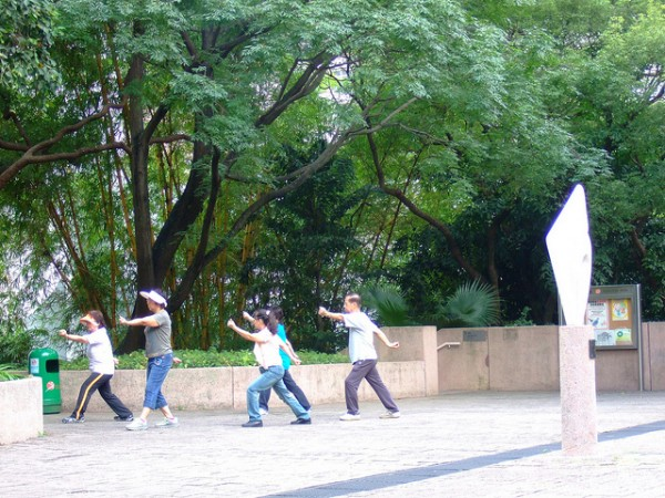 Tai Chi in Hong Kong by Rachael Moore via Flickr