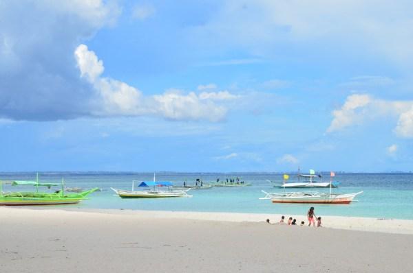 White Beach in Bantayan Island