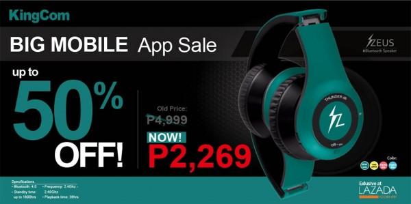 d5af8bdf560 Travel Gadgets: Get ZEUS Bluetooth Headset for half the price on ...