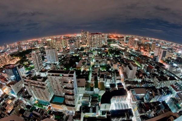 Bangkok at Night by DigitalPimp via flickr