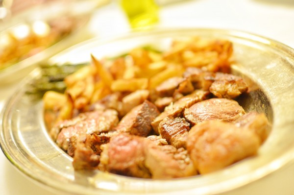Beef Steak from the black Iberian-Avilena breed