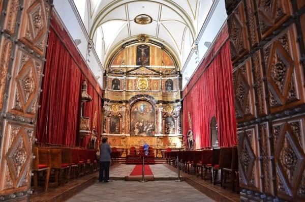 Capilla de San Jerónimo - Universidad de Salamanca