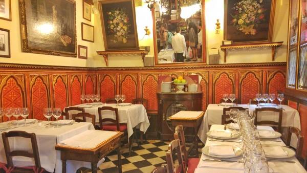 Inside Botin Restaurant