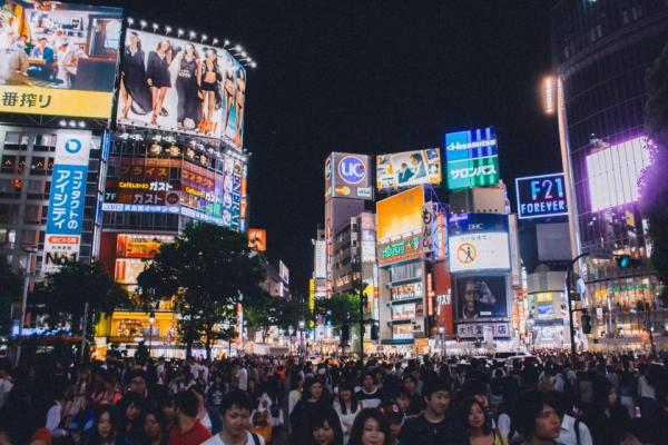 Shibuya Crossing by Luis Llerena