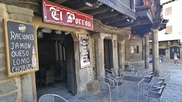 Tapas Bar in La Alberca