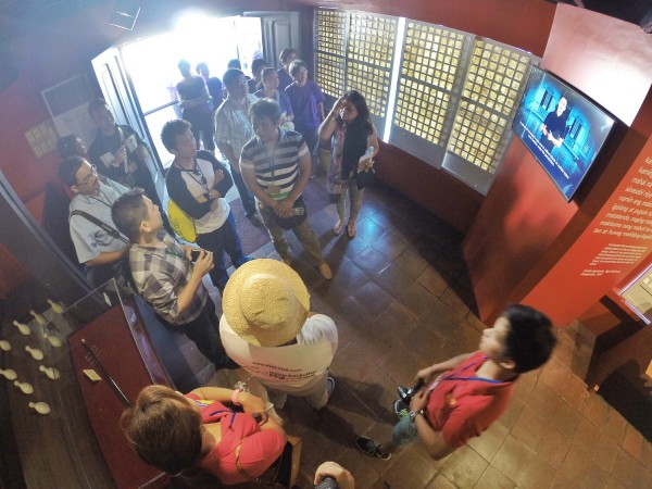 Touring inside the Aguinado Shrine Museum
