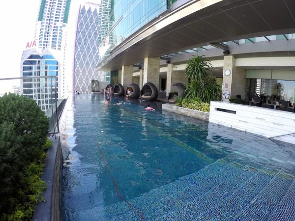bangkok hotel with a beautiful pool