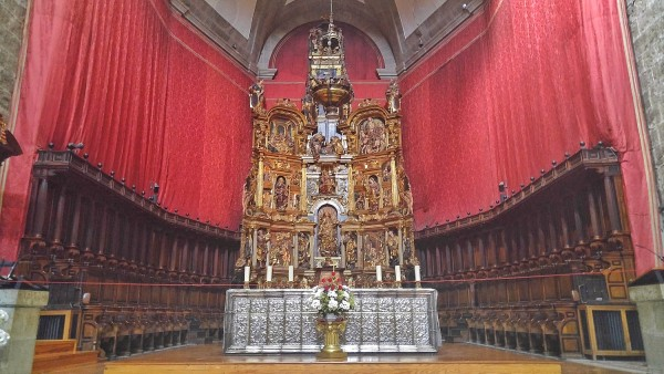 Altar of Valladolid Cathedral