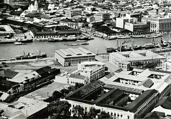 Birds eye view of Manila Circa 1941