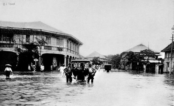 Flood in Manila circa 1905
