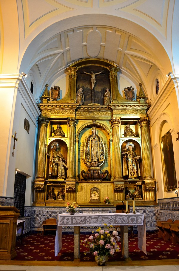Main altar of the Chapel