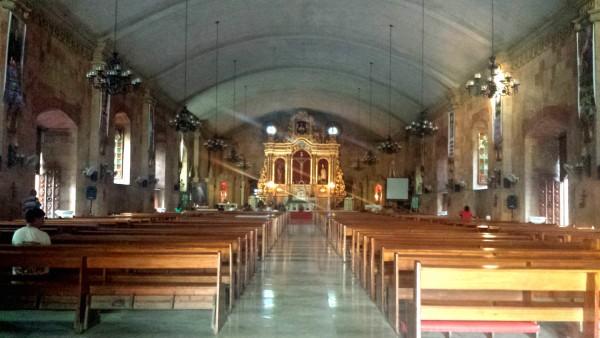 Miagao Church altar