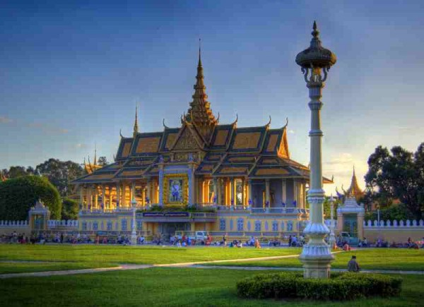 Preabaromareachaveang Royal Palace in Phnom Penh